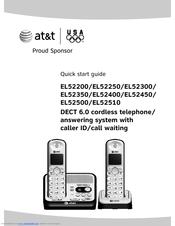 AT&T EL52300 Quick Start Manual
