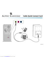 altec lansing vs 4121 manuals rh manualslib com Altec Lansing VS4221 Driver Altec Lansing Replacement Remote