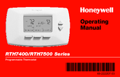 Honeywell RTH7000 Operating Manual
