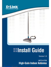 D-link ANT24-0700 Install Manual