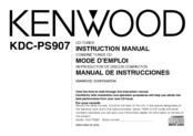 KENWOOD KDC-PS907 Instruction Manual
