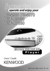 KENWOOD DVF-R7030 User Manual