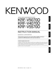 kenwood krf v5570d v5570d s audio video surround receiver repair manual
