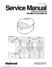 panasonic sr mm18n manuals rh manualslib com
