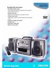 Philips Az2755 14 Manuals