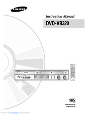 samsung dvd vr320 manual pdf