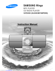Samsung Wingo S-P2450 Instruction Manual