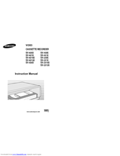 Samsung SV-530X Instruction Manual