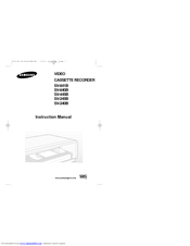 Samsung SV-445B Instruction Manual