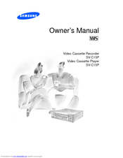 Samsung SV-C15P Owner's Manual