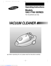 Samsung VAC-7713SP Manual