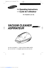 Samsung VAC9013RP Operating Instructions Manual