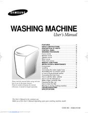 Samsung WA75B9 Manual