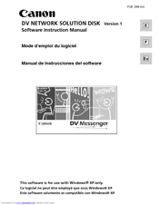 Canon D17-3712-251 - GL1 Camcorder - 270 KP Instruction Manual