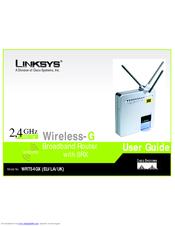 linksys wrt54gx wireless g broadband router manuals rh manualslib com linksys wireless-g 2.4 ghz broadband router user manual linksys wireless-g broadband router user manual
