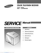 Samsung CL21N11MQUXXAZ - Chassis : KS7A(N_R2)Gold Rush Color TV receiver Service Manual covers following topics.