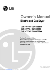 Lg dle3777w dlg3788w dryer service manual and technical.