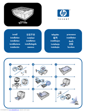 HP Color laserjet 2550 Install Manual