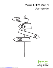 htc vivid att user manual pdf download rh manualslib com HTC EVO 4G User Guide AT&T HTC User Guide