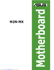 ASUS M2N-MXDVI2 DRIVER DOWNLOAD