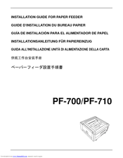 Kyocera KM-5050 Installation Manual