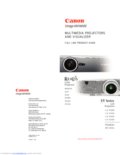 Canon RE-455X Product Manual