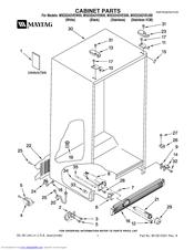 maytag msd2242veu 25 cu ft refrigerator manuals rh manualslib com Maytag Refrigerator Troubleshooting Maytag Refrigerator Troubleshooting