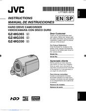 jvc gz mg330 everio 30gb hard drive hdd 35x optical zoom digital rh manualslib com JVC Radio Manual JVC Mini DV Digital Camcorder