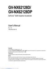 GIGABYTE GV-NX62128D DRIVER DOWNLOAD