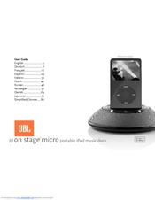 jbl jbl on stage micro manuals rh manualslib com