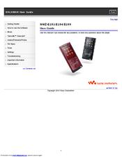 sony walkman nwz e354 manuals rh manualslib com Sony Walkman Nwz Battery Sony Walkman Nwz E354