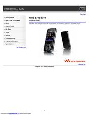 SONY WALKMAN NWZ-E364 DRIVERS DOWNLOAD FREE
