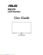 Asus MX279 User Manual