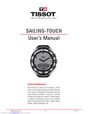 tissot sailing touch manuals rh manualslib com tissot racing touch user manual tissot racing touch manual portugues