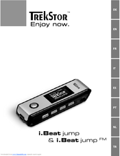 TrekStor i.Beat cebrax FM 1GB Quick Start Manual