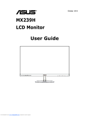 Asus MX239H User Manual