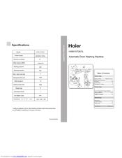 haier hwm1070kfl manuals rh manualslib com