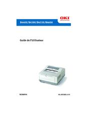 Oki B4600 Series Guide Utilisateur