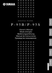 yamaha p 95s owner s manual pdf download rh manualslib com yamaha p95 instruction manual yamaha p95 user manual english