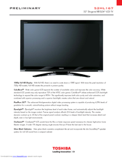toshiba 52hl167 52 lcd tv manuals rh manualslib com Toshiba TV Owners Manual Toshiba Remote Manuals