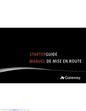 Gateway MX6625 Starter Manual