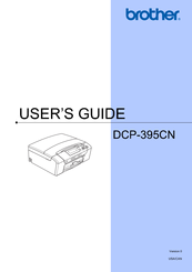 Brother DCP-395CN User Manual
