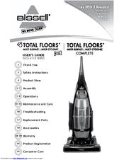 Bissell Total Floors Pet Manuals