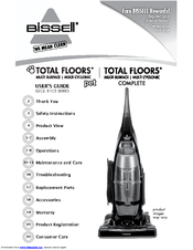 Bissell Total Floors® Complete Vacuum 52C2 User Manual