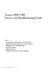 lenovo 3000 c100 manuals rh manualslib com lenovo 3000 n100 service manual lenovo 3000 n100 service manual