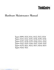 Lenovo 8215D1U Manuals