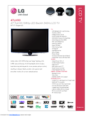 lg 47lh90 47 lcd tv manuals rh manualslib com LG Cell Phone Operating Manual LG Manuals PDF