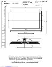 sony kdl 32m4000 r bravia m series lcd television manuals rh manualslib com sony bravia 42 lcd manual sony bravia 42 lcd manual