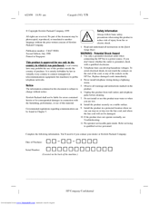 HP Deskjet 920c series User Manual