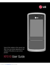 Lg Kf510 Manuals Manualslib